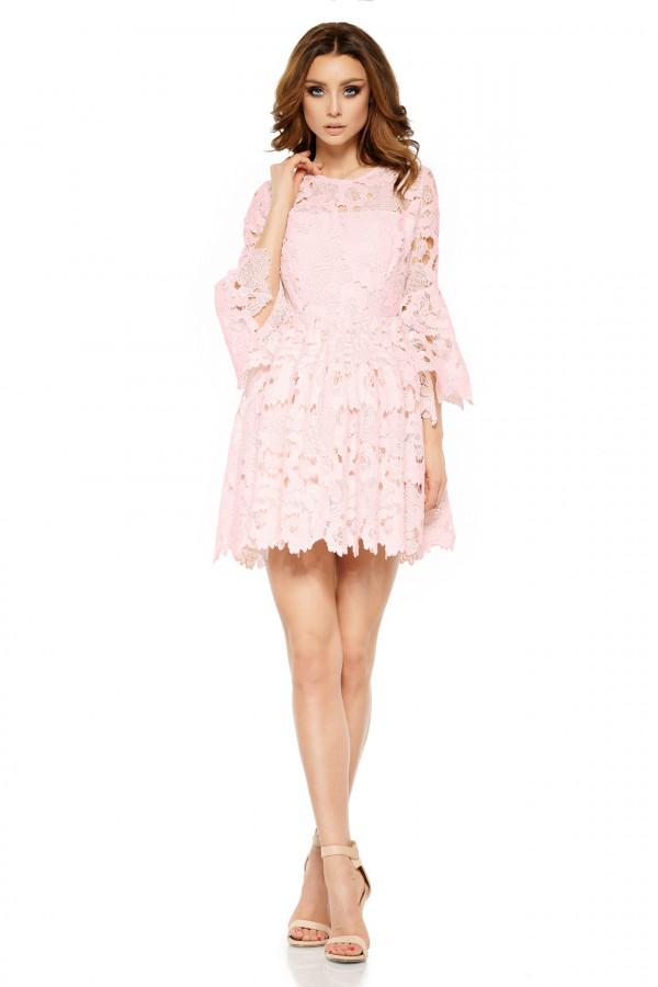Wizytowa sukienka z koronki ROMANTIC 3