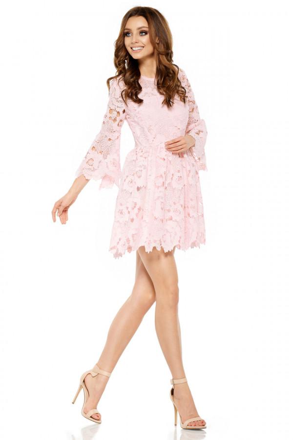 Wizytowa sukienka z koronki ROMANTIC 1