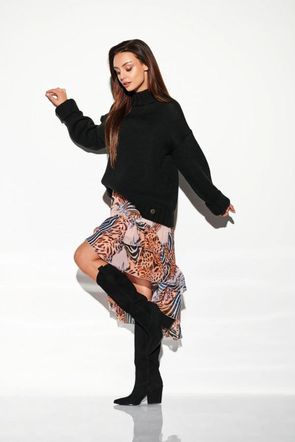 Sweter z półgolfem LARA
