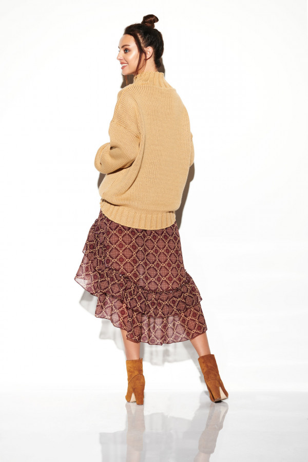 Spódnica z krótszym przodem SOFIA 2