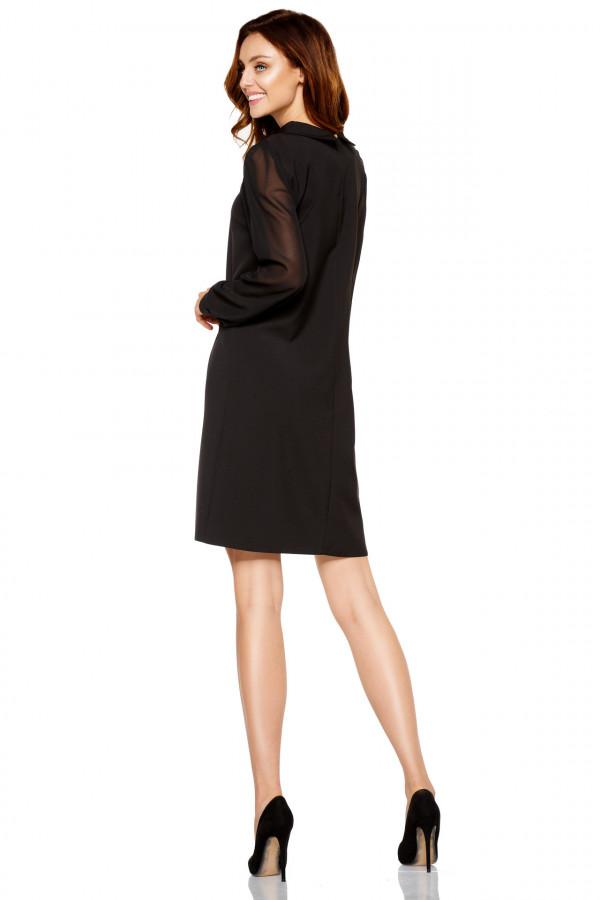 Sukienka z szyfonowymi rękawami 2