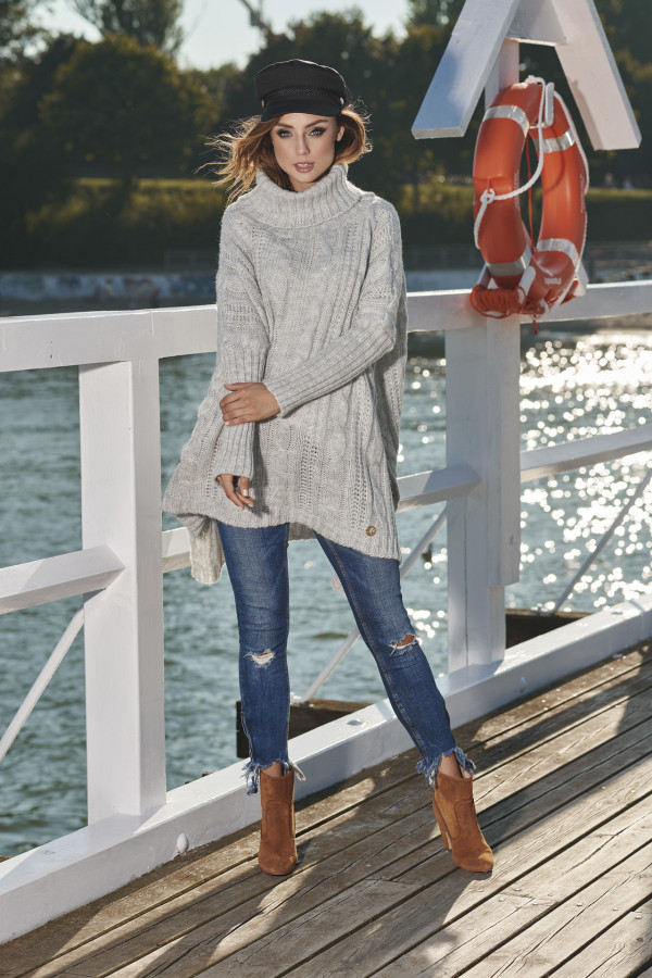 Sweter z golfem oversize WINONA