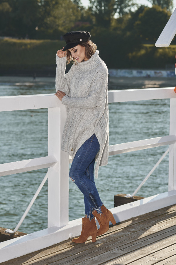 Sweter z golfem oversize WINONA 1