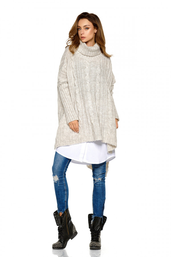 Sweter z golfem oversize WINONA 3