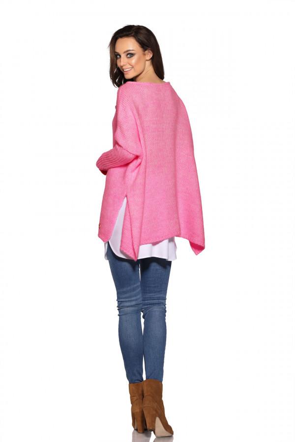 Sweter ponczo MARISA 4