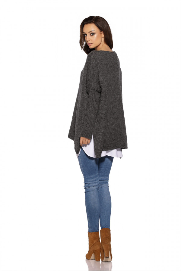 Sweter ponczo MARISA 3