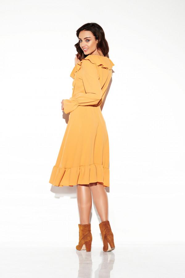Sukienka ze sznurowanym dekoltem EMILY 3