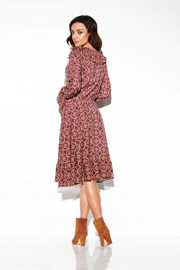 Sukienka ze sznurowanym dekoltem EMILY 2