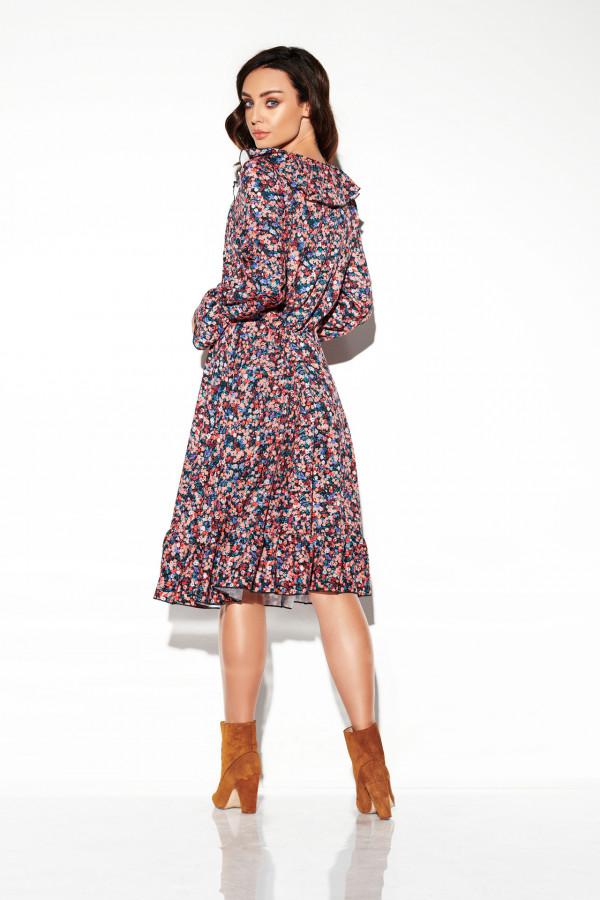 Sukienka ze sznurowanym dekoltem EMILY 4