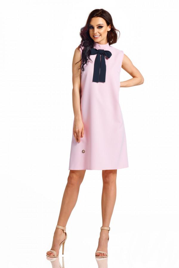 Sukienka bez rękawów z kokardą PIXIE