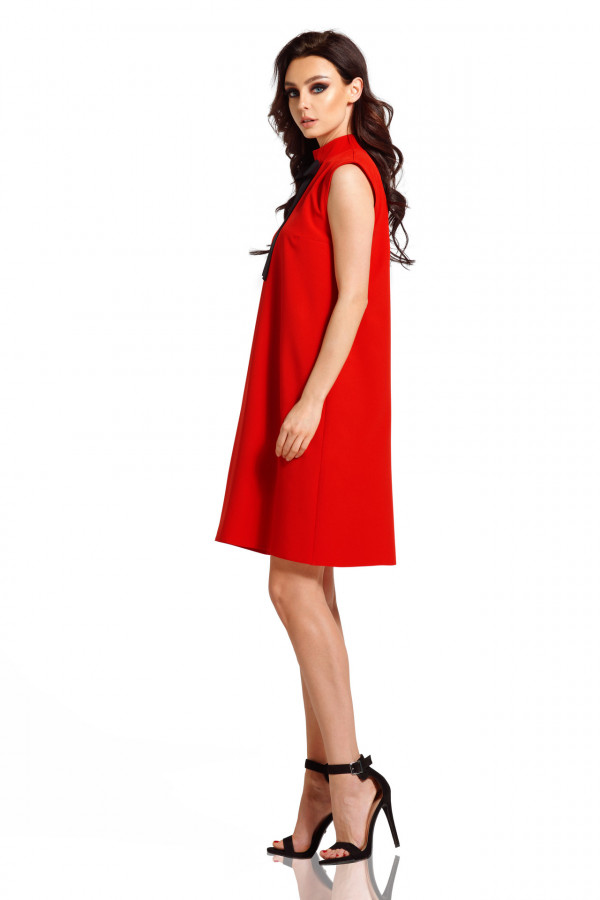 Sukienka bez rękawów z kokardą PIXIE 2