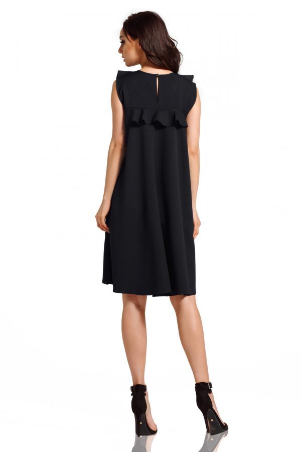 Sukienka bez rękawów z falbanami PENELOPE 3