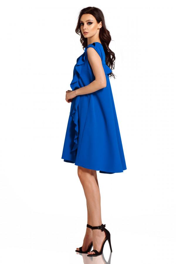 Sukienka bez rękawów z falbanami PENELOPE 2