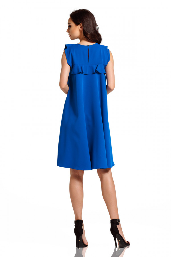 Sukienka bez rękawów z falbanami PENELOPE 4