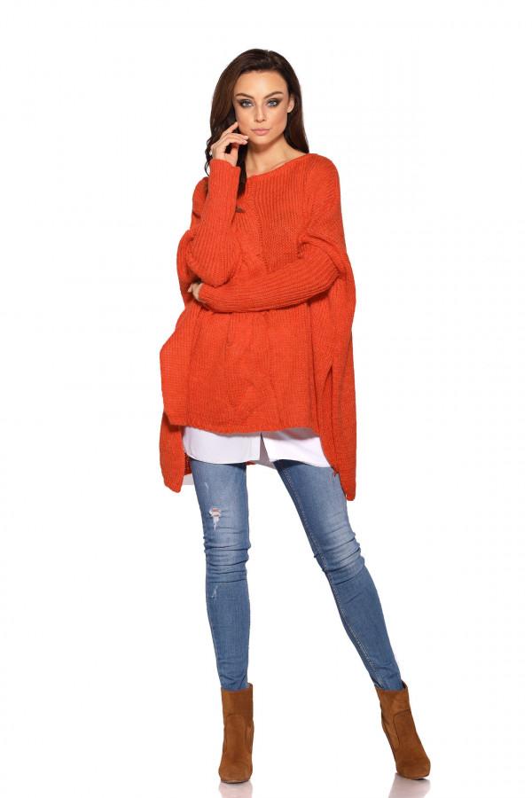 Sweter ponczo MARISA 2