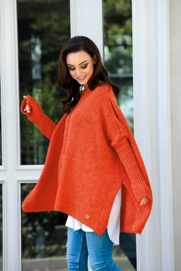 Sweter ponczo MARISA 1