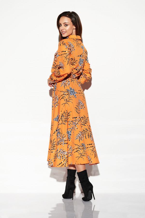 Sukienka szmizjerka maxi wzory 3