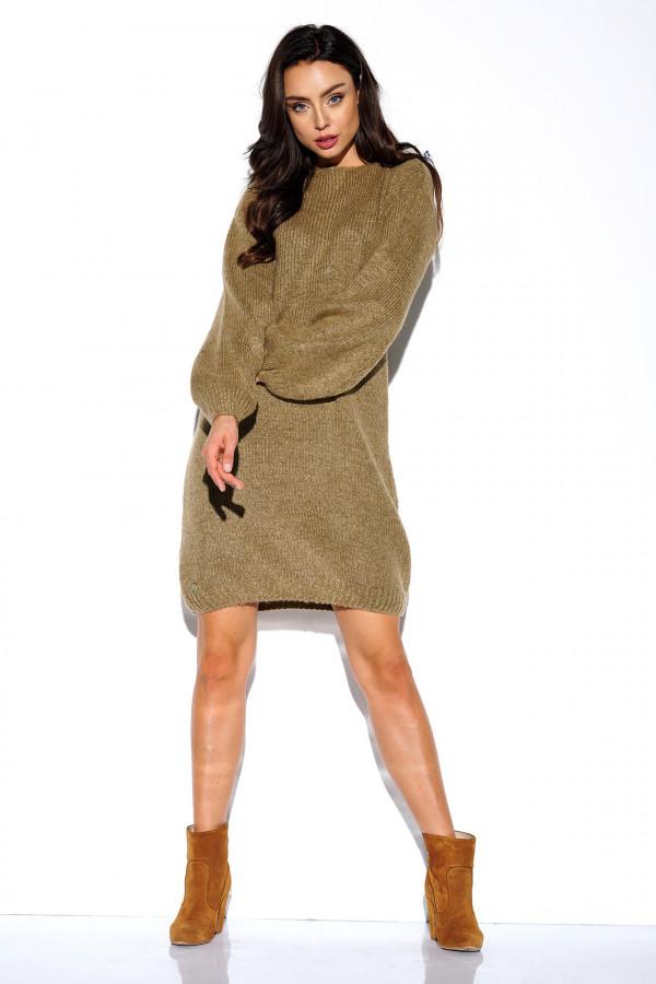 Swetrowa sukienka VIOLET