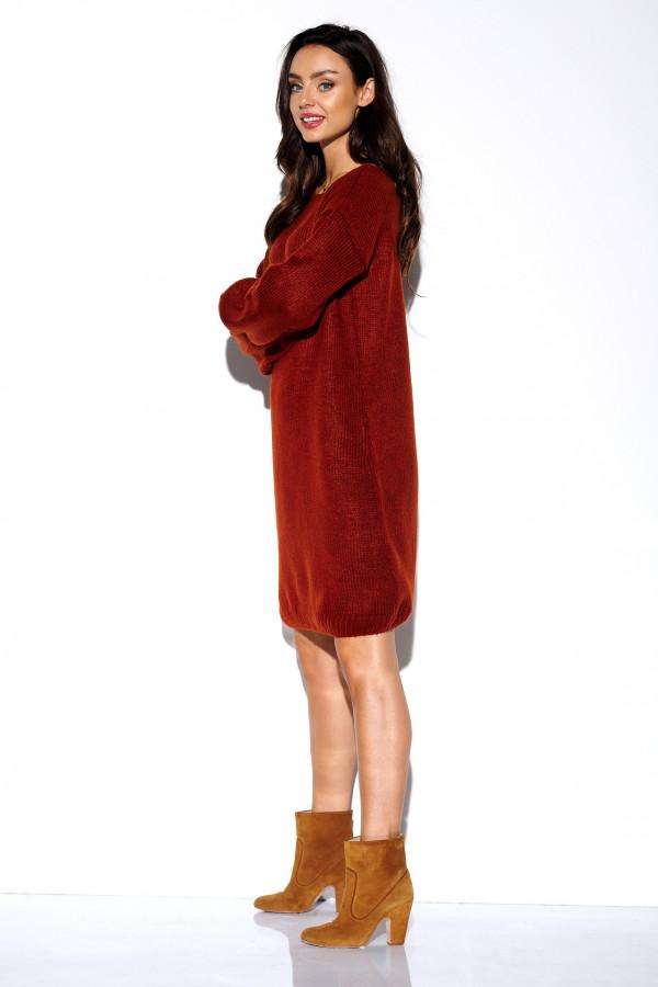 Swetrowa sukienka VIOLET 1