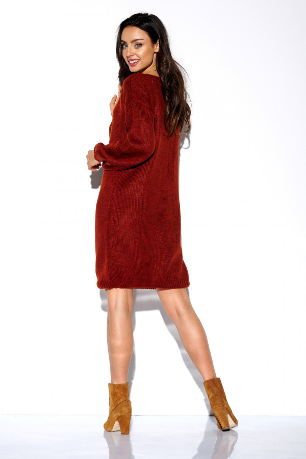 Swetrowa sukienka VIOLET 2