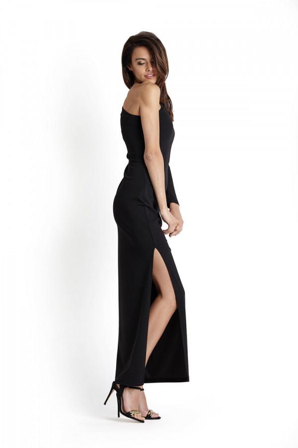 Sukienka maxi na jedno ramię LUISA 1