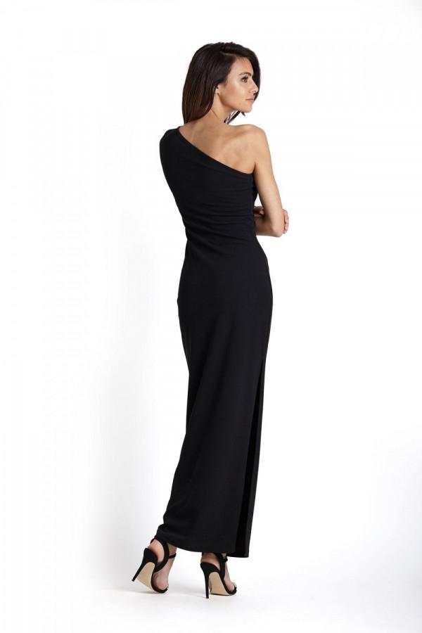 Sukienka maxi na jedno ramię LUISA 2
