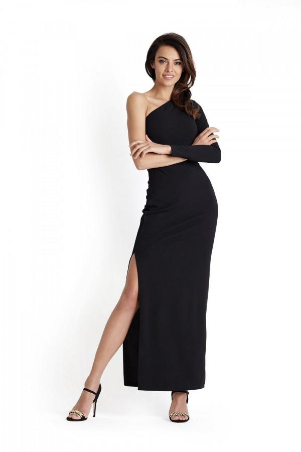 Sukienka maxi na jedno ramię LUISA
