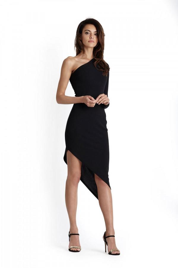 Sukienka asymetryczna na jedno ramię TAMIRA