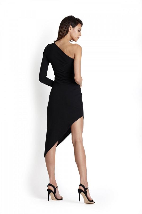 Sukienka asymetryczna na jedno ramię TAMIRA 1