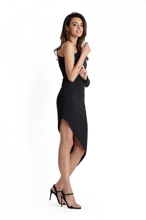 Sukienka asymetryczna na jedno ramię TAMIRA 2