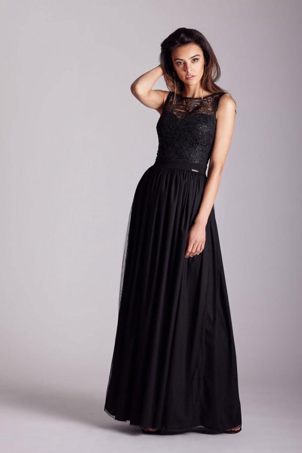 Wieczorowa długa sukienka SISI