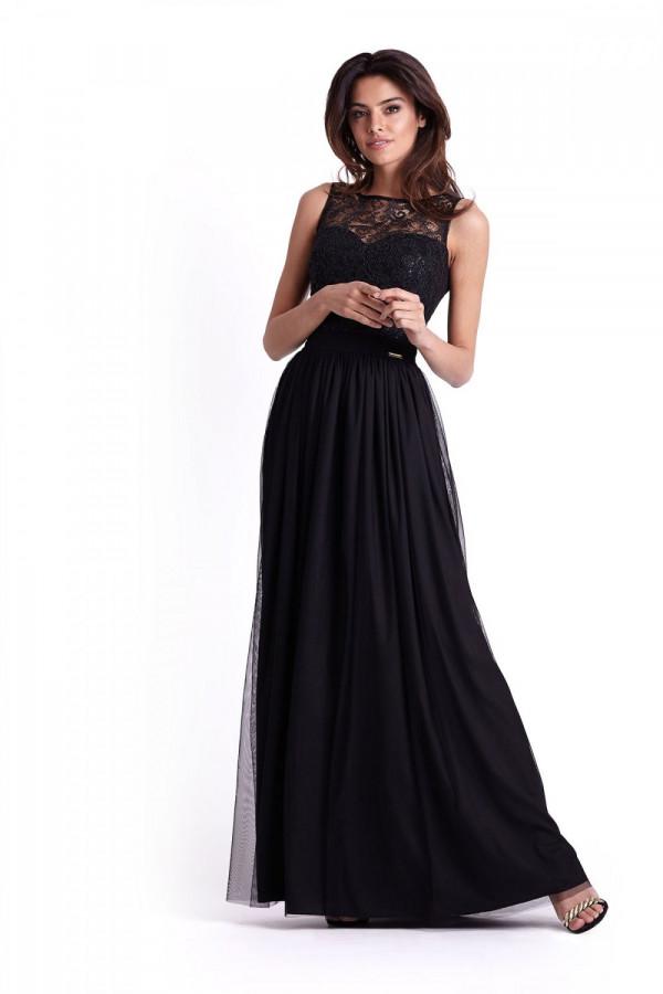 Wieczorowa długa sukienka SISI 2