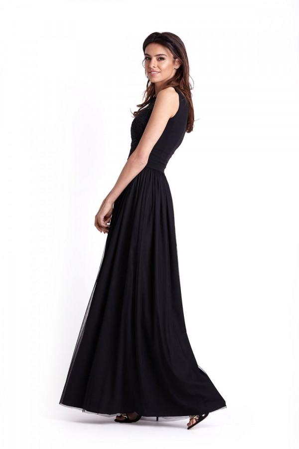 Wieczorowa długa sukienka SISI 3