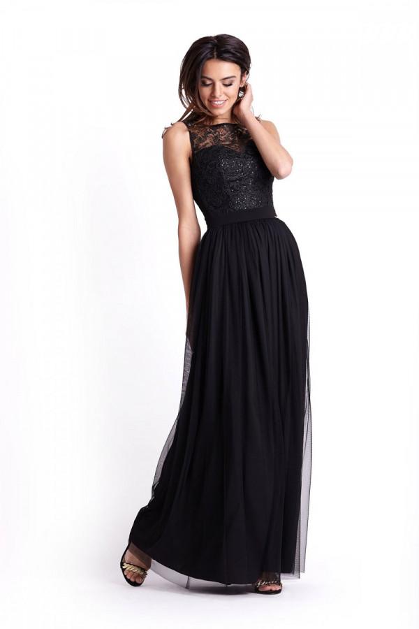 Wieczorowa długa sukienka SISI 4