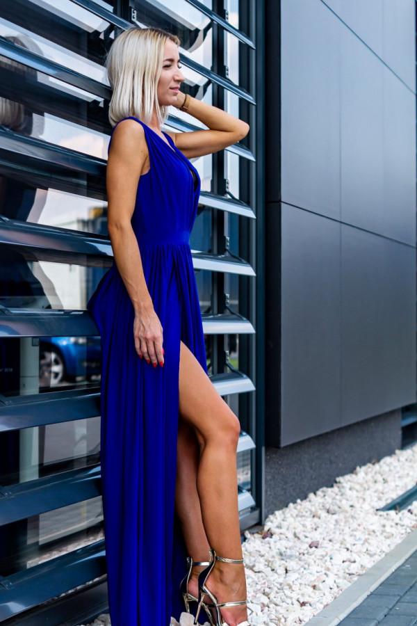 Długa elegancka sukienka REBECA 2