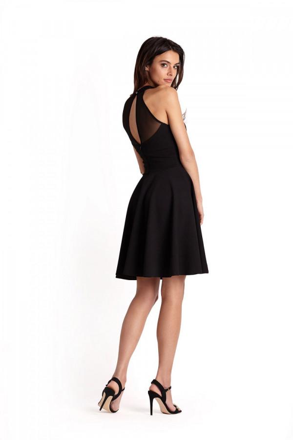 Elegancka sukienka halter GEMMA 1