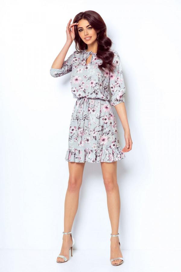 Sukienka w kwiaty MIRELLA