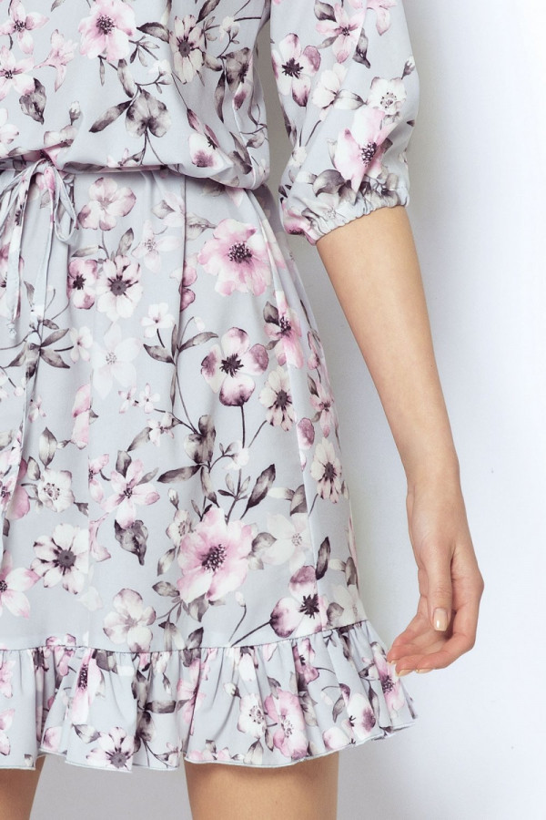 Sukienka w kwiaty MIRELLA 1