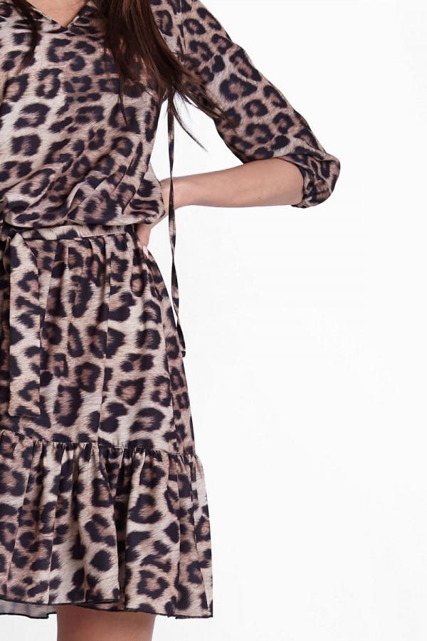 Sukienka w panterkę RAMIRA 6