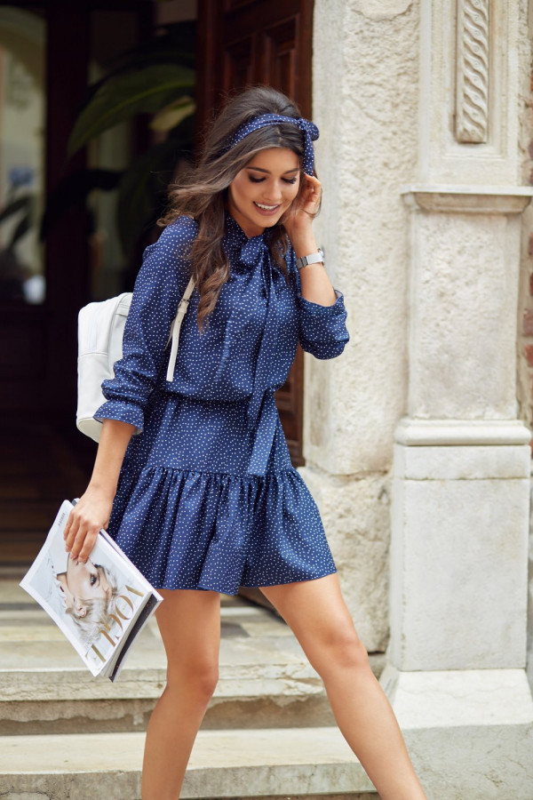Sukienka w kropki INGA