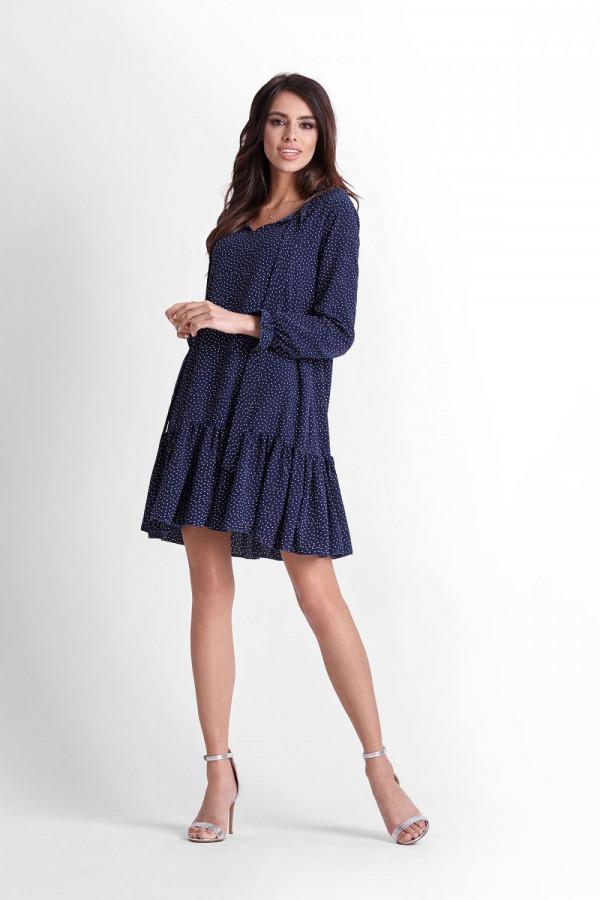 Sukienka w kropki INGA 1