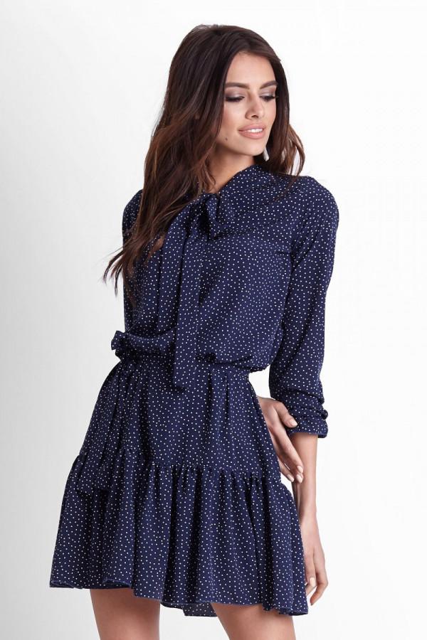 Sukienka w kropki INGA 4