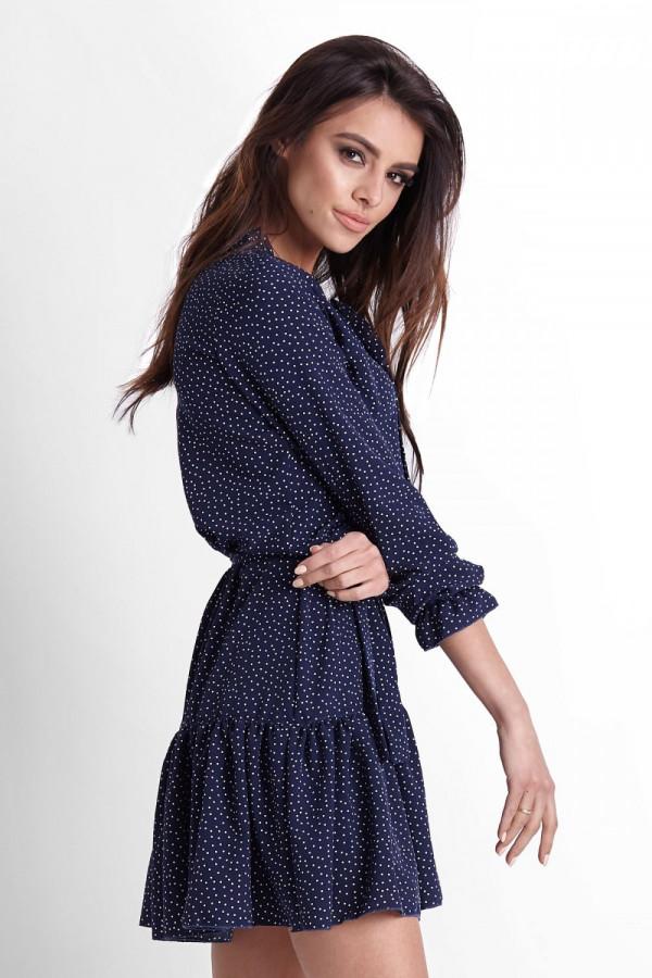 Sukienka w kropki INGA 5