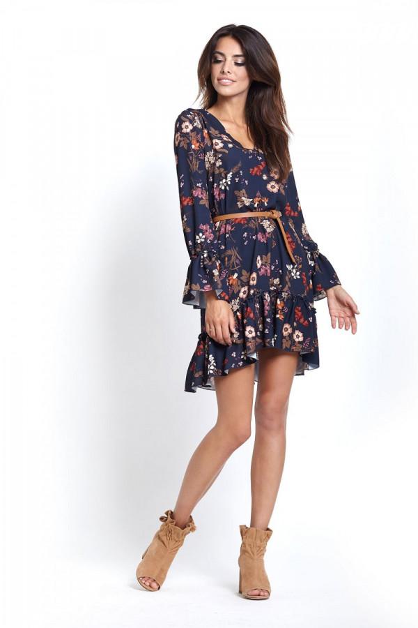 Sukienka w kwiaty AURELIA 4