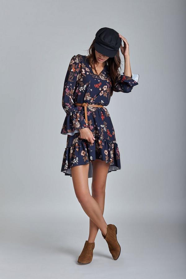 Sukienka w kwiaty AURELIA 1