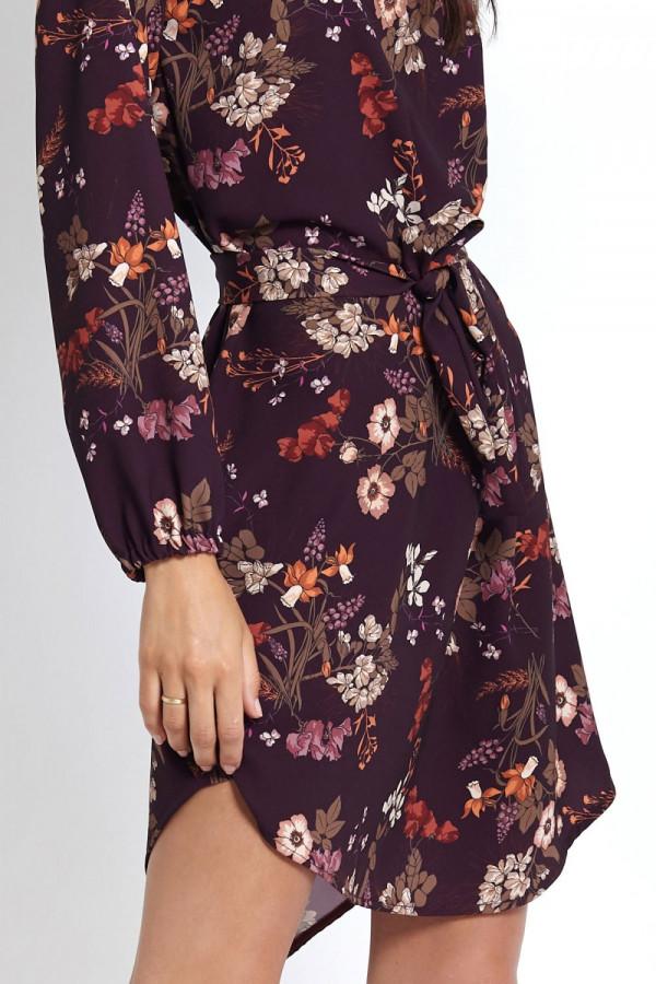 Sukienka w kwiaty KARINA 4