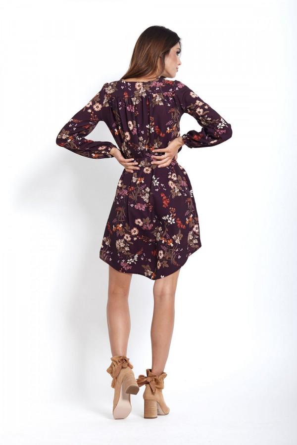 Sukienka w kwiaty KARINA 5