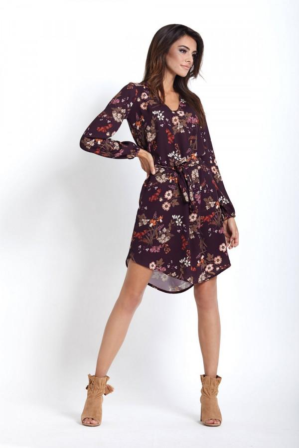 Sukienka w kwiaty KARINA 2