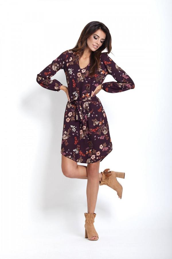 Sukienka w kwiaty KARINA 3