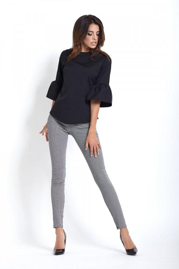 Eleganckie legginsy w pepitkę SAVA